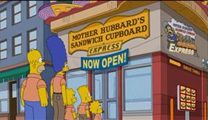 Casa do Sanduíche da Mamãe Hubbard Expresso