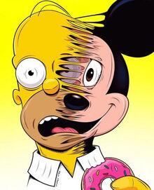 Homer-Disney fanart