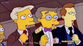 I Simpson Waylon Smithers Homer - Alpha Tau (Sub Ita)