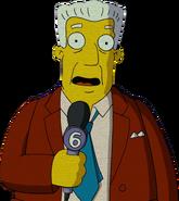 Kent Brockman in The Simpsons Movie