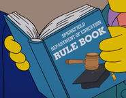 Springfield Department of Education Rule Book