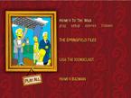 The Dark Secrets of the Simpsons Menu 1