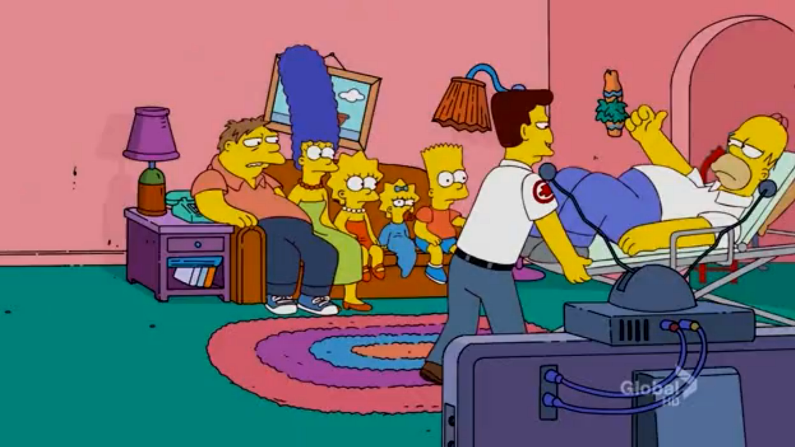 Substituting For Homer Couch Gag Simpsons Wiki Fandom Powered By