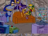 Batman couch gag