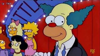 I Simpson Krusty and Contestants - Little Miss Springfield Opening Song (Sub Ita)
