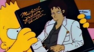 Michael Jackson References in The Simpsons