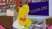 Bart and Homer Hug