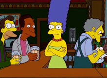 Marge no bar do moe