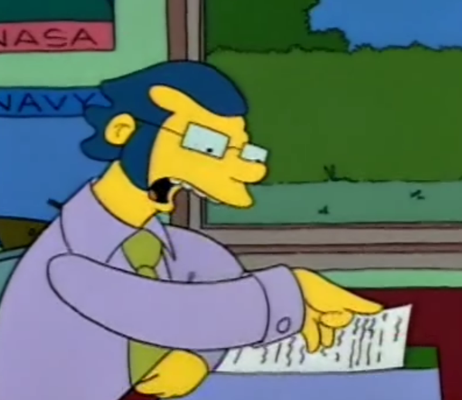 Guidance Counselor Simpsons Wiki Fandom Powered By Wikia
