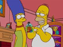 Marge homer perfume chewbacca