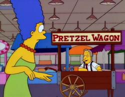 Pretzel wagon