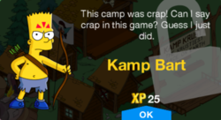 250px-Tapped Out Kamp Bart New Character