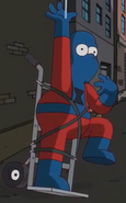 Locked-in syndrome Homer spider-man
