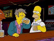 Skinner drinks