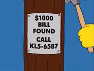 TheReginaMonologues-$1000BillFoundSign