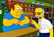 Comic Book Guy & Stan Lee