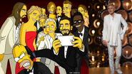 Ellen-DeGeneres-Simpsons Selfie