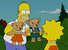 Homer lisa ursinhos vermont