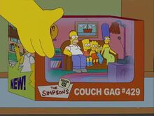 Lisa the Drama Queen (Couch Gag) 2