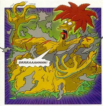 Bart comics sideshow Blob 1