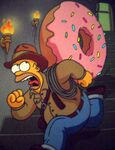 HOMER INDIANA JONES
