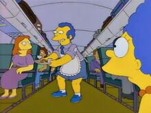 Marge father plane