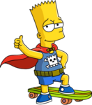 Bart daredevil Tapped Out