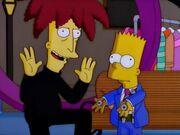 Bart hypnotisé par bob