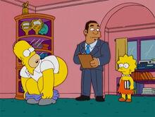 Homer bunda lisa