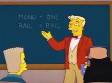 Lyle lanley aula monotrilho
