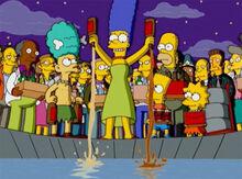 Marge bebidas reservatório água