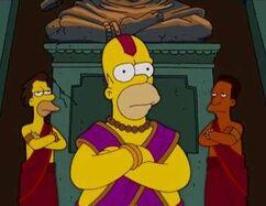Notre Homer qui êtes un dieu