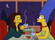 Ruth i Marge w knajpie
