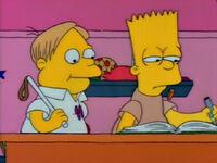 Bart dostaje dwóję