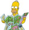 Carte Homer