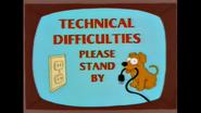 DogEatsTheTVPlugForATechnicalDifficuliesPleaseStandByPoster