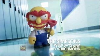 Groundskeeper Willie WATCH THE SIMPSONS
