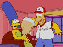 Homer luva rouba chá marge