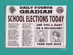 School Election Today