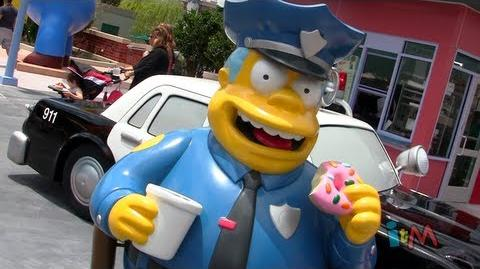 The Simpsons Springfield opens Duff Gardens, Lard Lad, Bumblebee Man Tacos at Universal Orlando