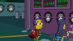 Bart pose un lapin