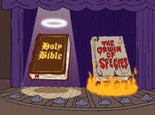 Biblia vs origem das especies