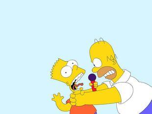 Homer-against-bart