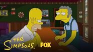 Homer Bumps Into Bart At The Bar Season 29 Ep