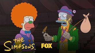 Krusty Meets The Clowns Season 30 Ep. 8 THE SIMPSONS
