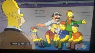 Simpsons Under the boardwalk