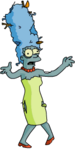 Tapped Out Marge Zombie