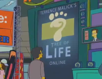 Terrence Malick's Tree of Life Online
