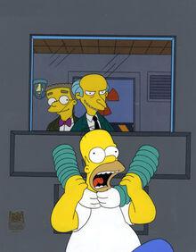 Burns duszący Homera