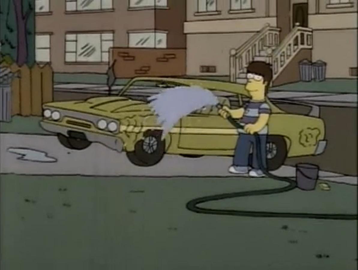 70 S Sport Car Simpsons Wiki Fandom Powered By Wikia